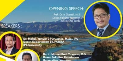 Webinar Series 3 Jurusan/Program Studi Agroekoteknologi Fakultas Pertanian Univereitas Jambi